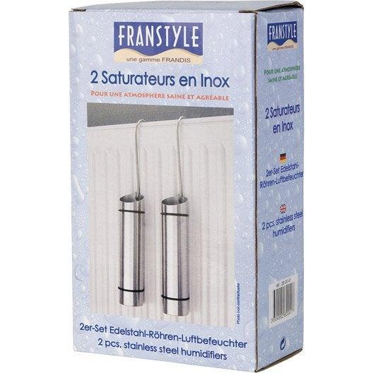Lot de 2 saturateurs tube inox inox 300 ml leroy merlin - Tube inox leroy merlin ...