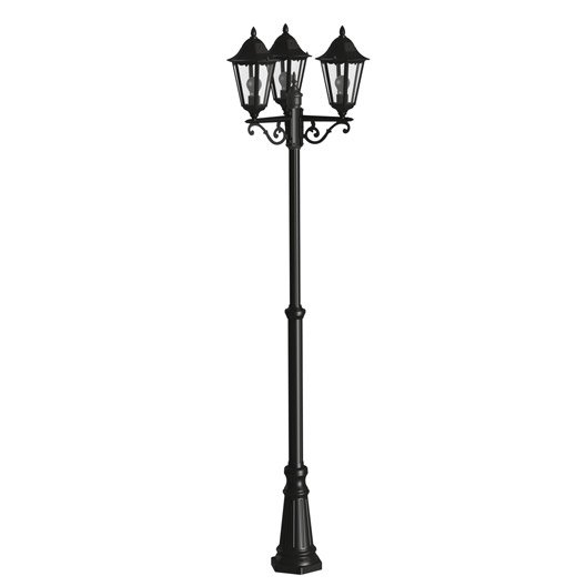 lampadaire ext rieur eclairage jardin leroy merlin. Black Bedroom Furniture Sets. Home Design Ideas