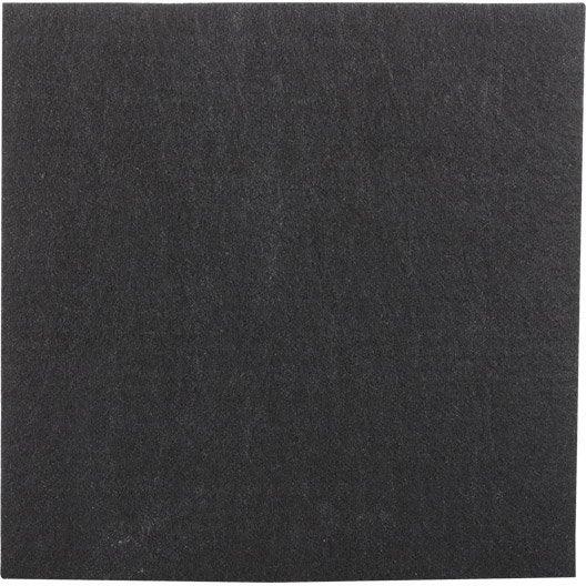 plaque protectrice adh sive en feutre 200 x 200 mm
