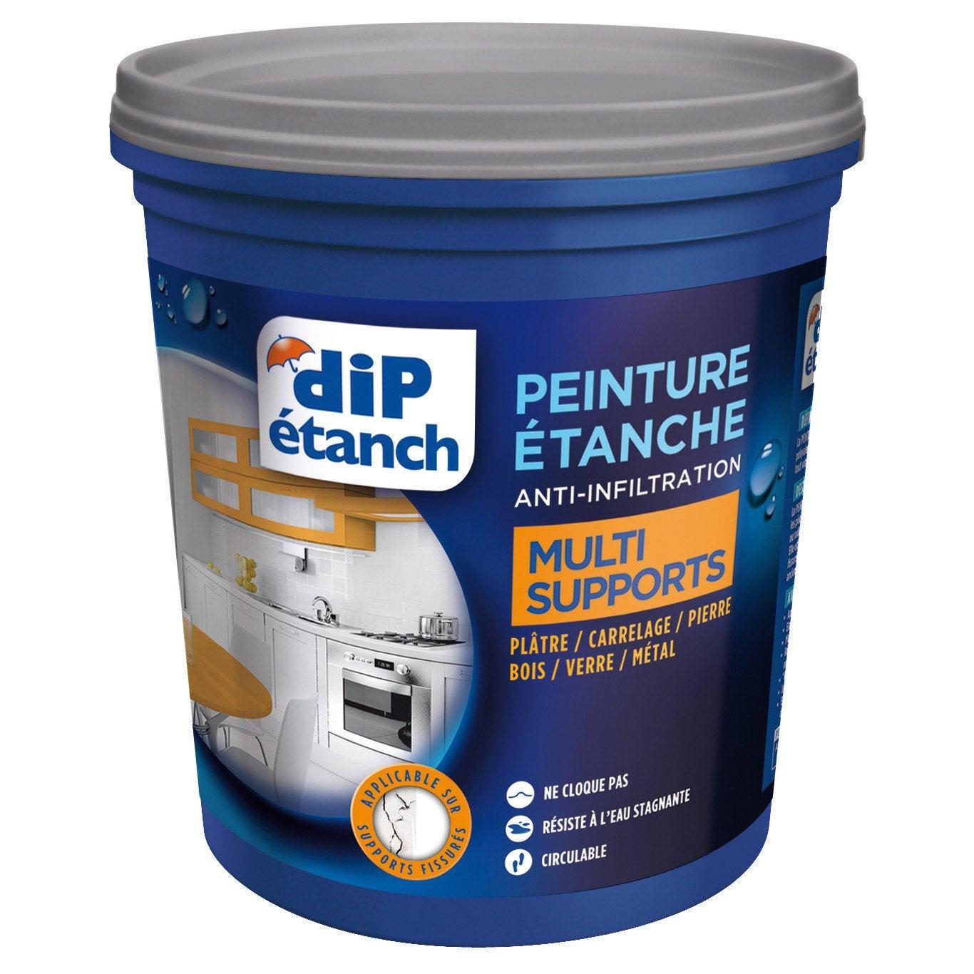 Peinture étanche Multi supports, DIP blanc 0.75 l | Leroy Merlin