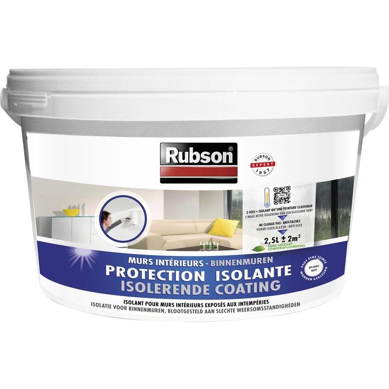 Peinture Anticondensation Stop Condensation Rubson Blanc 2 L