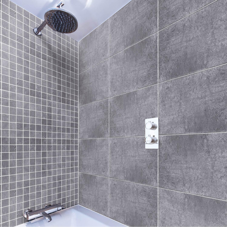 Mosa que et galets pour carrelage de salle de bains au meilleur prix leroy merlin for Mosaique salle de bain leroy merlin