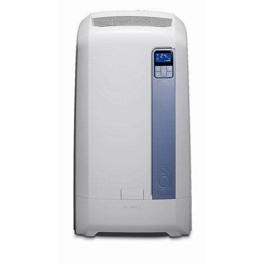 climatiseur mobile pac we112 eco delonghi 3000w leroy. Black Bedroom Furniture Sets. Home Design Ideas