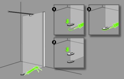 Comment poser une paroi dans une douche l italienne - Comment enlever de la moisissure dans une douche ...