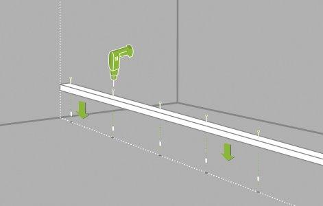 Comment monter une cloison en plaques de pl tre for Comment poser du ba13