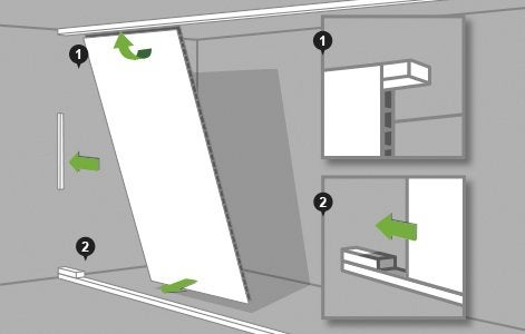 Comment monter une cloison en plaques de pl tre for Pose placo hydrofuge salle de bain