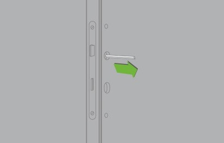 Comment remplacer une serrure de porte int rieure - Remplacer une vitre de porte ...