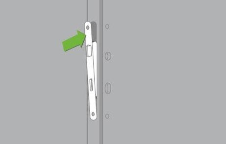 Comment remplacer une serrure de porte int rieure for Changer la serrure d une porte
