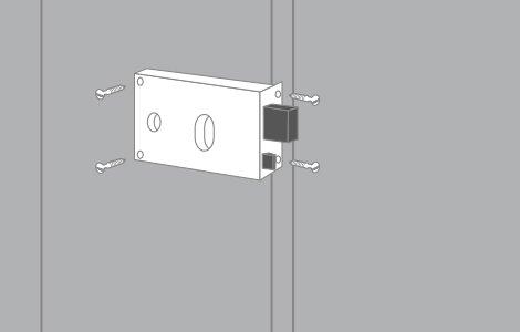 Comment remplacer une serrure de porte int rieure leroy merlin - Comment ouvrir une porte de maison sans cle ...
