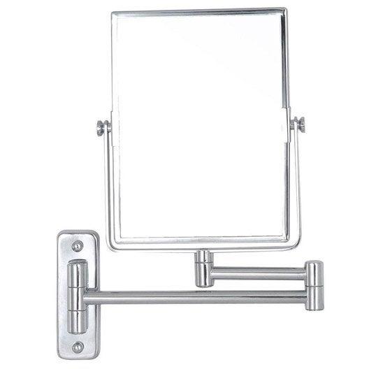 Miroir grossissant x 3 rectangulaire fixer x l for Miroir grossissant x20