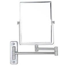 Miroir grossissant miroir de salle de bains leroy merlin for Miroir trois faces salle de bain