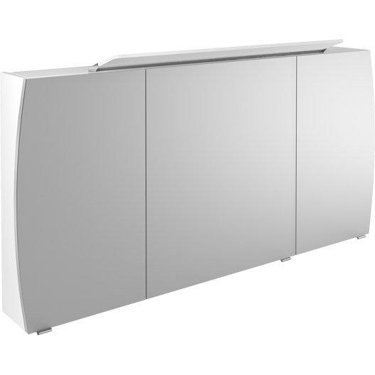 Armoire de toilette armoire salle de bains au meilleur prix leroy merlin - Armoire de toilette lumineuse ...