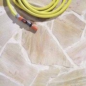 Opus Rustique quartzite du brésil, jaune clair, Ep.15 mm