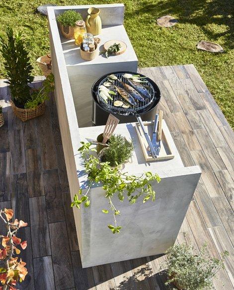 Construire Un Espace Barbecue Leroy Merlin