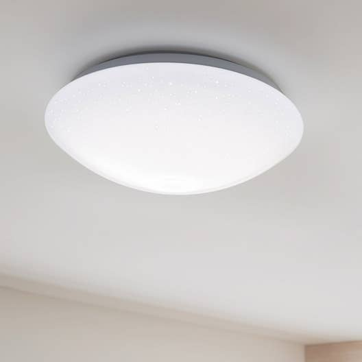 plafonnier led blanc chaud