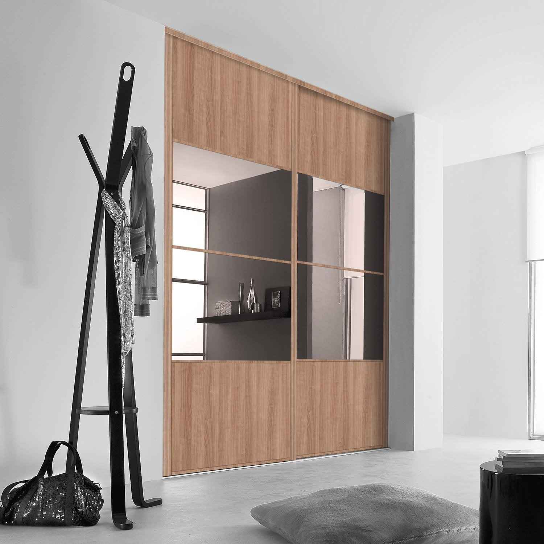 Porte De Placard Sur Mesure Au Meilleur Prix Leroy Merlin - Porte placard coulissante et fabricant de porte intérieure sur mesure