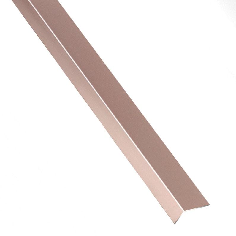 Cornière Inégale Aluminium Anodisé Orangecuivré L1 M X L235 Cm X H195 Cm