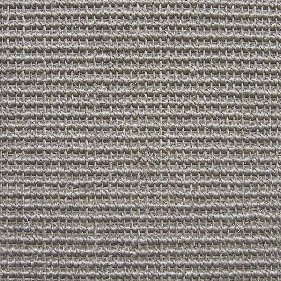 Sisal bouclée uni gris, Livos boucle, 4 m