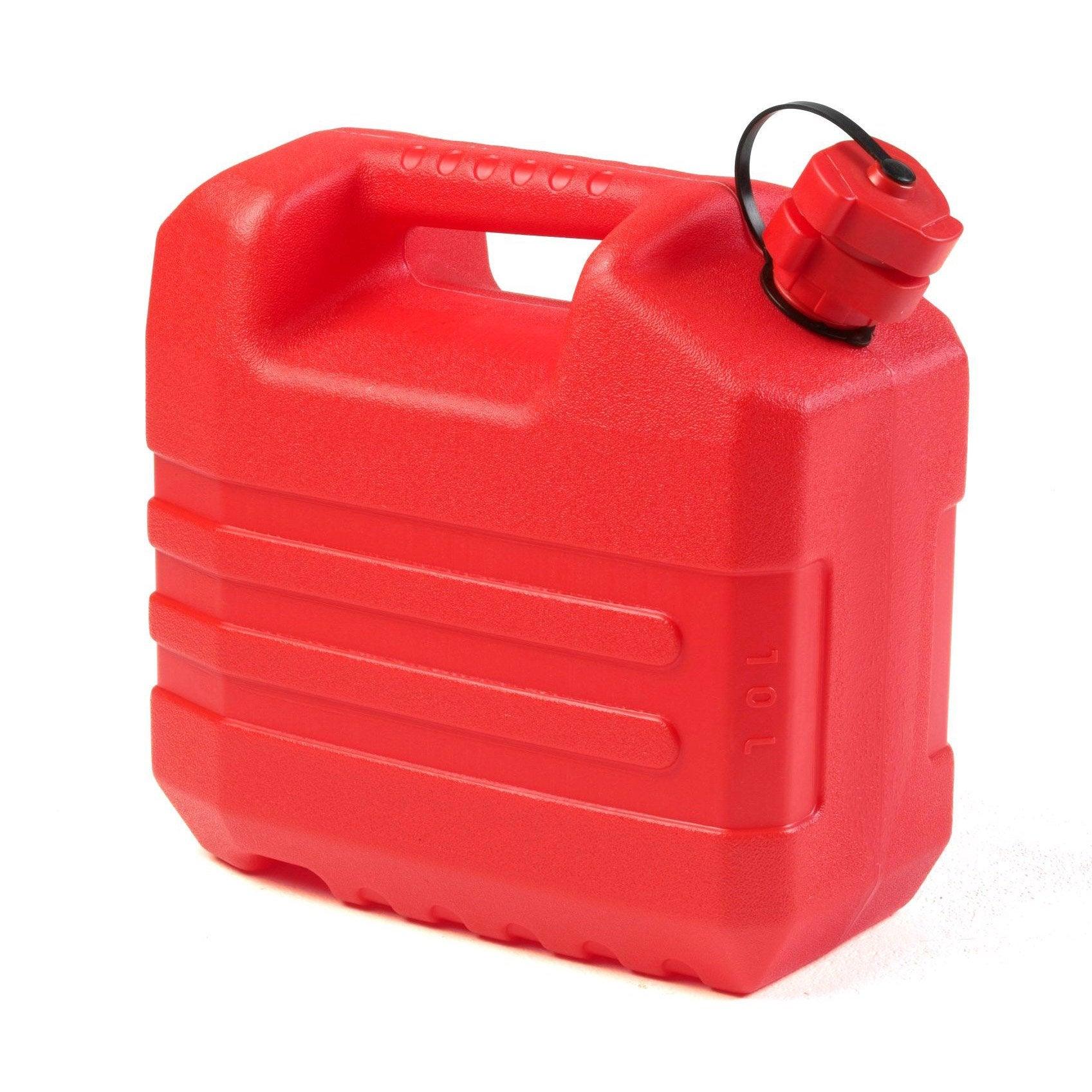 Jerrican En Polyethylene Eda Rouge 20 L Leroy Merlin