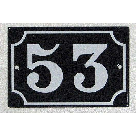 plaque maill e 53 en acier leroy merlin. Black Bedroom Furniture Sets. Home Design Ideas