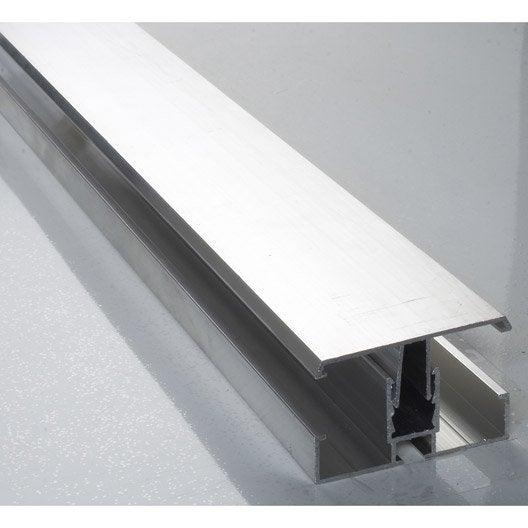 Profil jonction aluminium 3 m leroy merlin for Malette aluminium leroy merlin