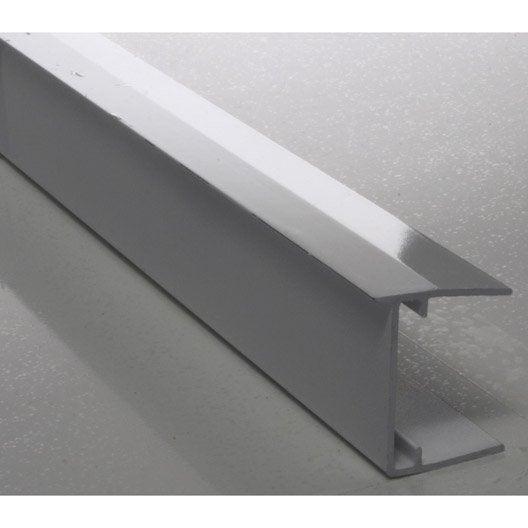 Profil obturateur aluminium blanc leroy merlin - Prieel aluminium leroy merlin ...