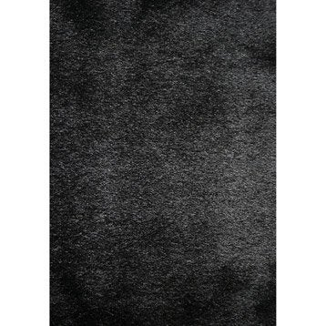 tapis shaggy zelia noir 230x160 cm. Black Bedroom Furniture Sets. Home Design Ideas