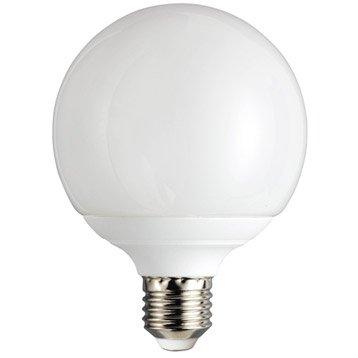 Ampoule globe conomie d 39 nergie 18w lexman e 27 lumi re - Ampoule lumiere noire leroy merlin ...
