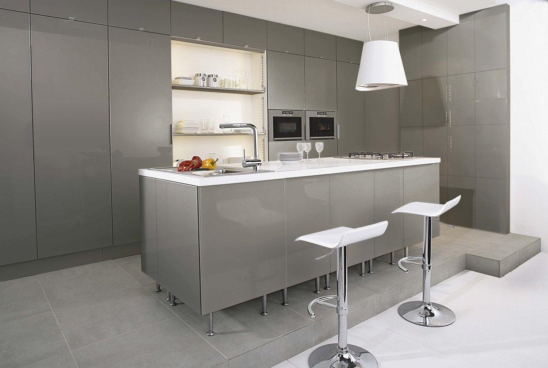 Meuble de cuisine cuisine am nag e cuisine quip e en - Hauteur de meuble de cuisine ...