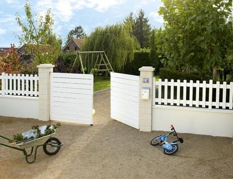 Un portail en PVC pour sécuriser la maison