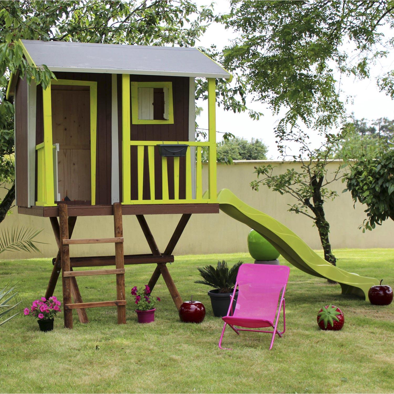 Maisonnette bois Maison dans les arbres SOULET , 5.95 m²   Leroy Merlin a07dc089cec8