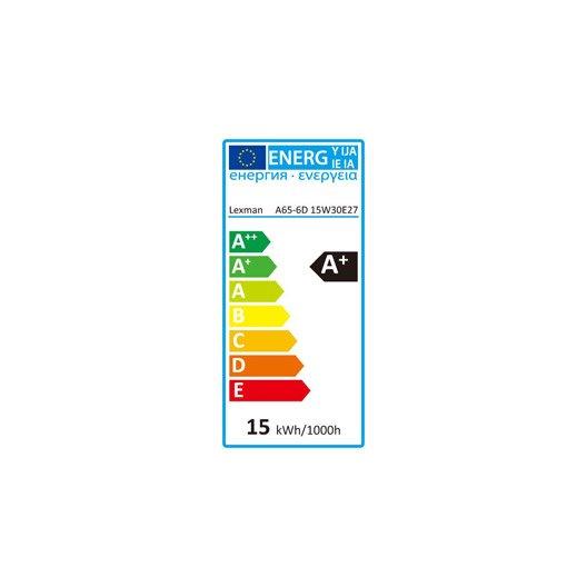 Ampoule standard LED 15W = 1521Lm (équiv 100W) E27