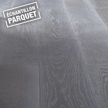 Echantillon parquet contrecollé Premium line, XL, chêne sorbonne huilé