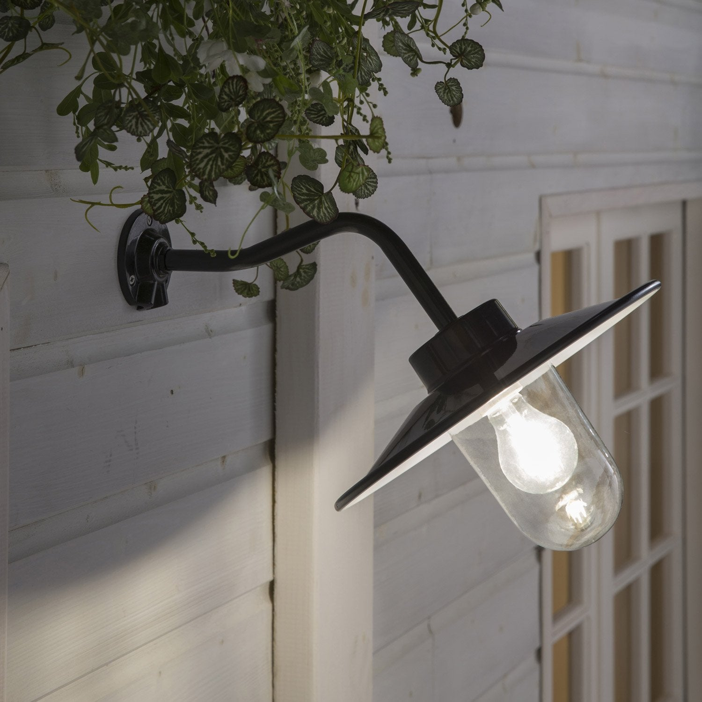 Applique extérieure Flagstaf E27 60 W, vert INSPIRE | Leroy Merlin