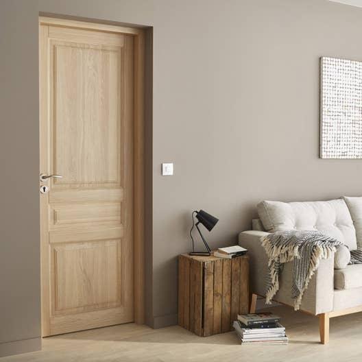 bloc porte huil ch ne agathe 2 artens x cm poussant gauche leroy merlin. Black Bedroom Furniture Sets. Home Design Ideas