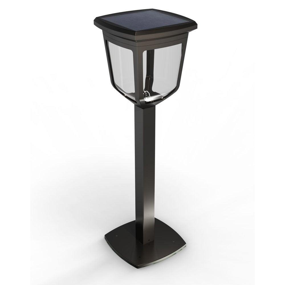 borne solaire kappa 200 lm noir xanlite leroy merlin. Black Bedroom Furniture Sets. Home Design Ideas