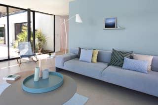 Peinture int rieure salle de bain chambre salon cuisine leroy merlin - Pistolet peinture pour interieur maison ...