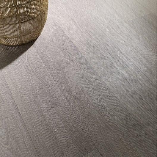 sol vinyle textonic newport white gerflor 3 m leroy merlin. Black Bedroom Furniture Sets. Home Design Ideas