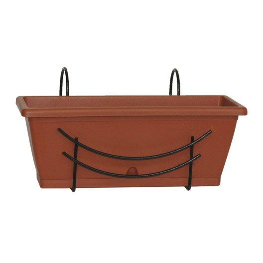 Jardini re pot de fleurs jardini re poterie d corative leroy merlin - Leroy merlin jardiniere ...