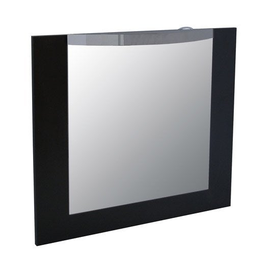 miroir avec clairage int gr image leroy merlin. Black Bedroom Furniture Sets. Home Design Ideas