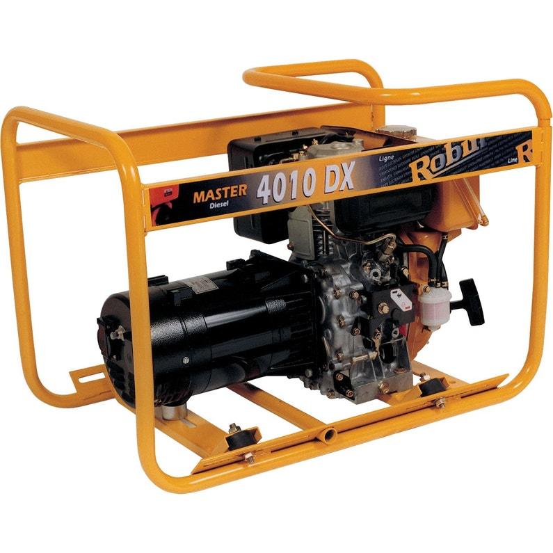 Groupe électrogène diesel de chantier WORMS Mast4010 dx de gr, 2300 ... 4ccce00c8bd6