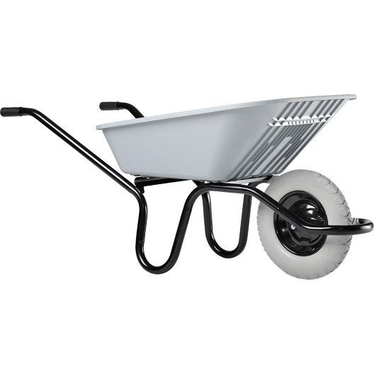 brouette 1 roue une en plastique haemmerlin 100 l 120 kg leroy merlin. Black Bedroom Furniture Sets. Home Design Ideas
