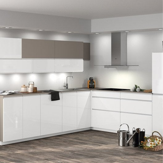 Meuble de cuisine ingenious composition type albe leroy merlin for Comfacade de meuble de cuisine