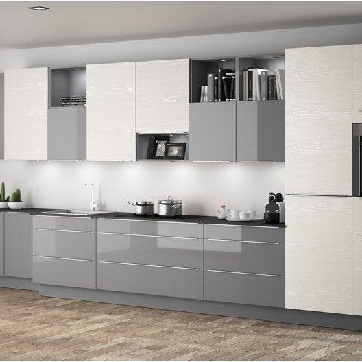 meuble de cuisine ingenious composition type albe leroy merlin. Black Bedroom Furniture Sets. Home Design Ideas