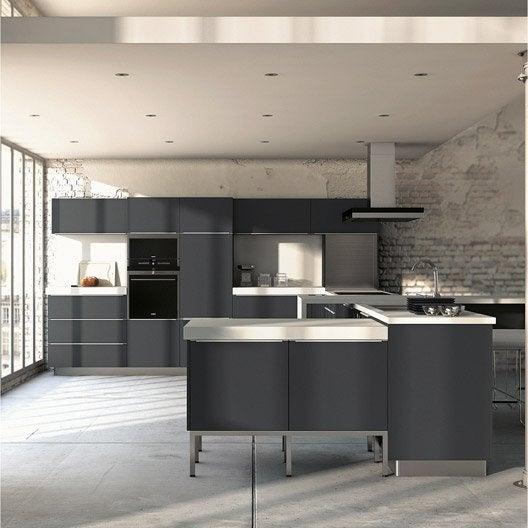 Meuble de cuisine ingenious composition type aliz leroy merlin - Plinthe meuble cuisine leroy merlin ...