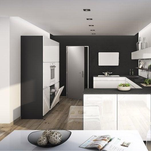 Meuble de cuisine ingenious composition type galerne for Livraison meuble a domicile