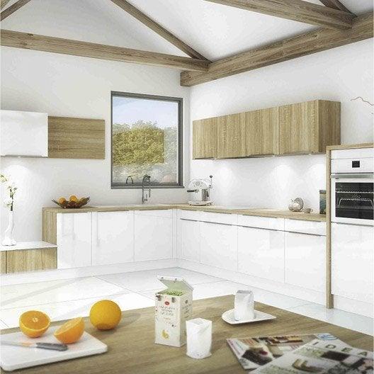 Meuble de cuisine ingenious composition type aliz for Livraison meuble a domicile