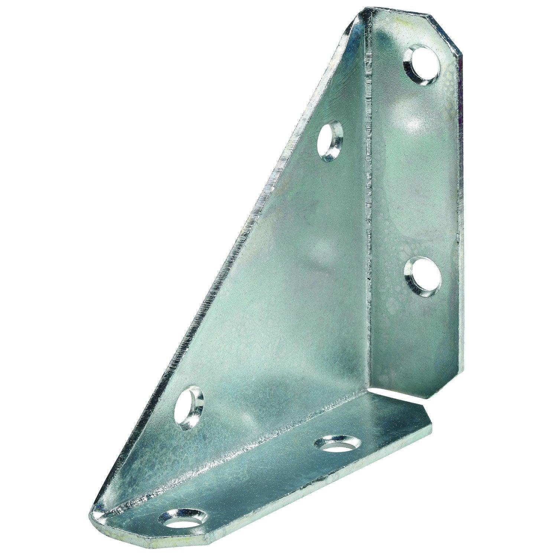 1 raccord d 39 assemblage acier zingu hettich mm for Angolari leroy merlin