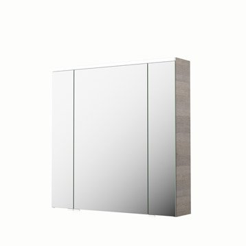 Armoire de toilette armoire salle de bains au meilleur - Armoire de toilette lumineuse leroy merlin ...