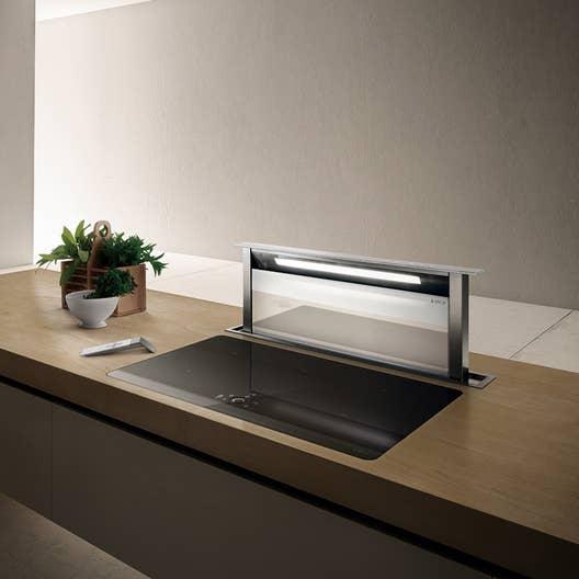 hotte plan de travail l87 5 cm elica adagio inox leroy merlin. Black Bedroom Furniture Sets. Home Design Ideas
